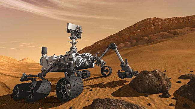 Marsia tutkiva Curiosity-mnkij laskeutui kraatteriin sunnuntaina yli kahdeksan kuukautta kestneen matkan jlkeen.
