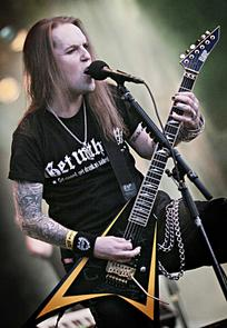 Children of Bodom Qstockin päälavalla perjantaina