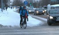 Promotion of winter cycling in Oulu, Finland